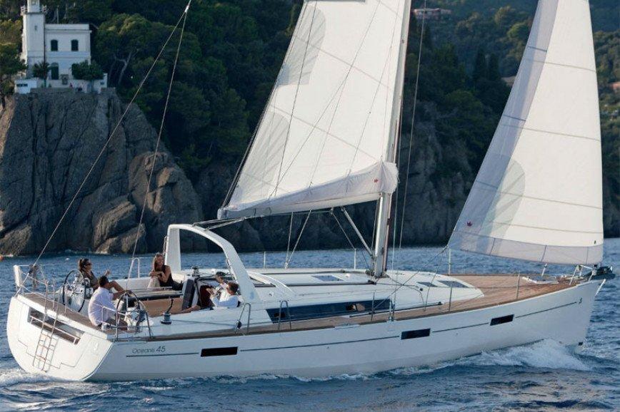 MYKONOS RENT A SAILBOAT Beneteau Oceanis 45 (3 cbs) Hippie Fleet