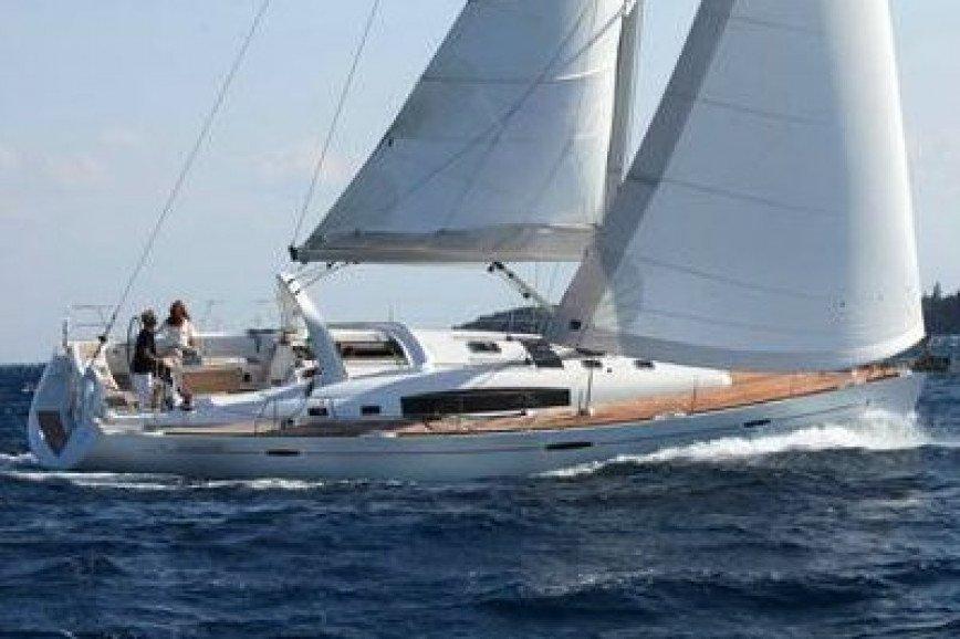 LEFKADA RENT A SAILBOAT Beneteau Oceanis 50 Hippie Fleet
