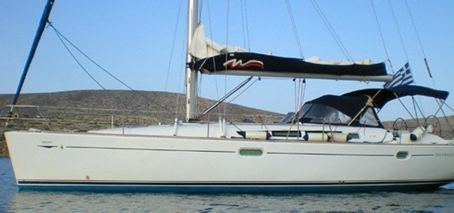 CRETE RENT A SAILBOAT Jeanneau Sun Odyssey 45 Hippie Fleet