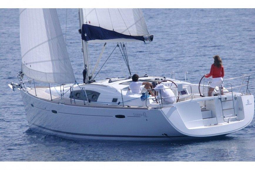 MYKONOS RENT A SAILBOAT Beneteau Oceanis 43 Hippie Fleet