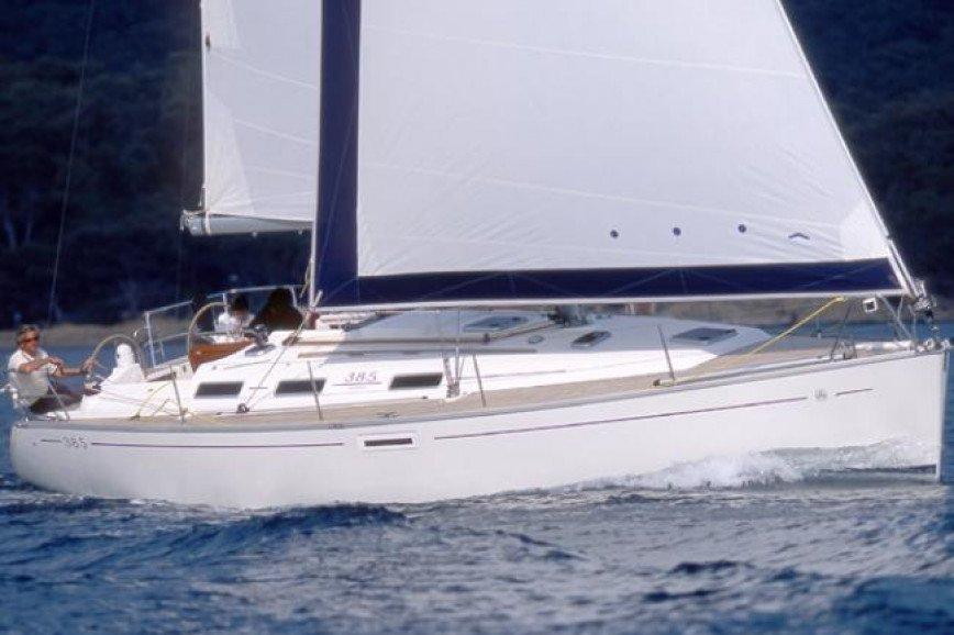 PAROS RENT A SAILBOAT Dufour Yachts 385 Hippie Fleet