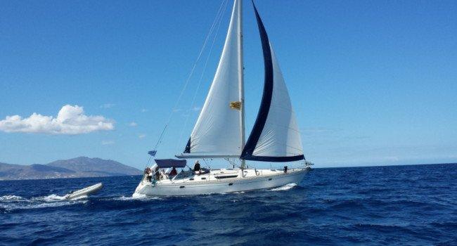 MYKONOS RENT A SAILBOAT Jeanneau Sun Odyssey 45 Hippie Fleet