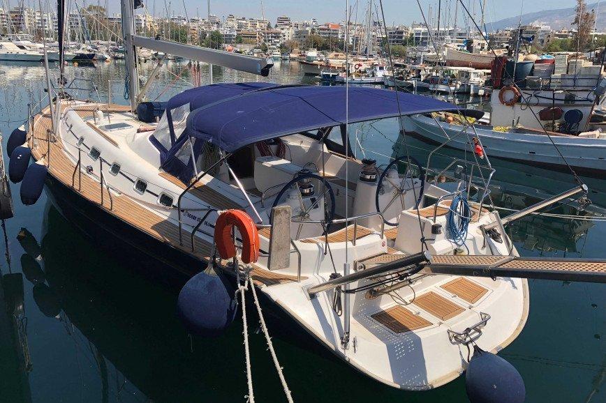 PAROS RENT A SAILBOAT Ocean Yachts Star 56.1 Hippie Fleet