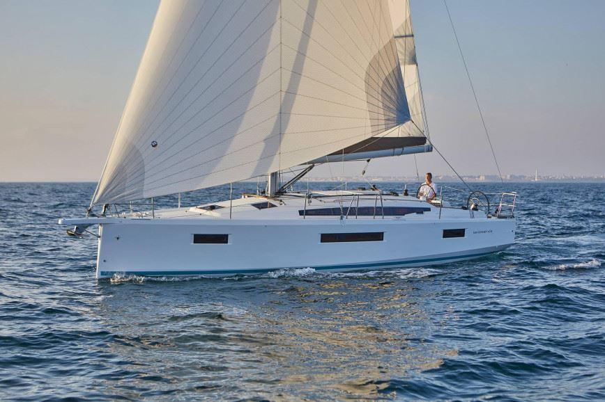 LEFKADA RENT A SAILBOAT Jeanneau Sun Odyssey 410 Hippie Fleet