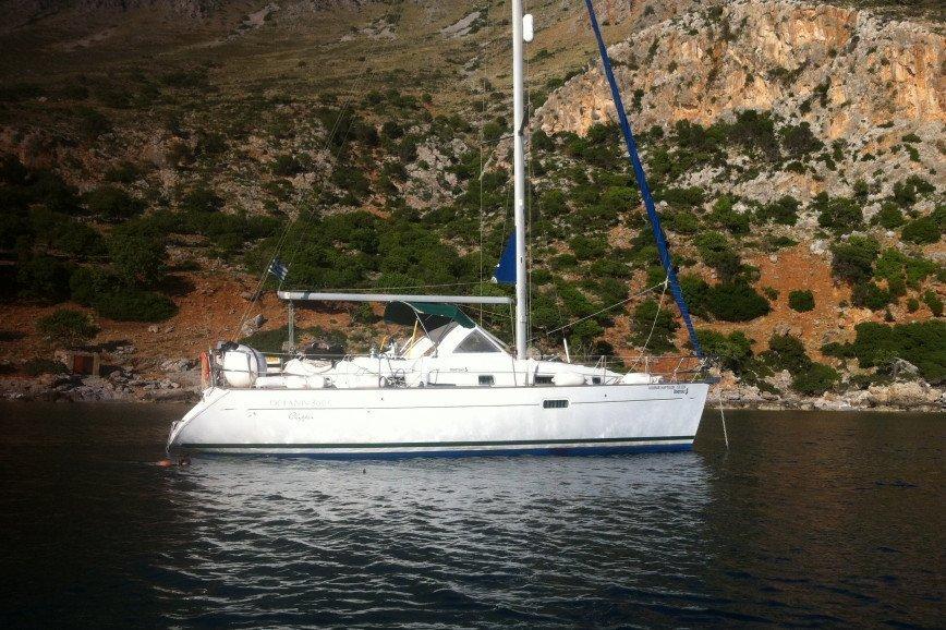 CRETE RENT A SAILBOAT Beneteau Oceanis 36 Hippie Fleet