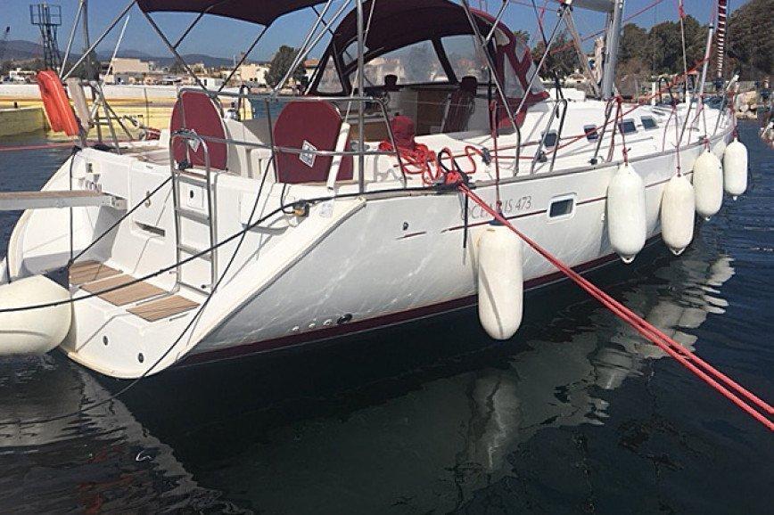 SANTORINI RENT A SAILBOAT Beneteau Oceanis 473 Hippie Fleet